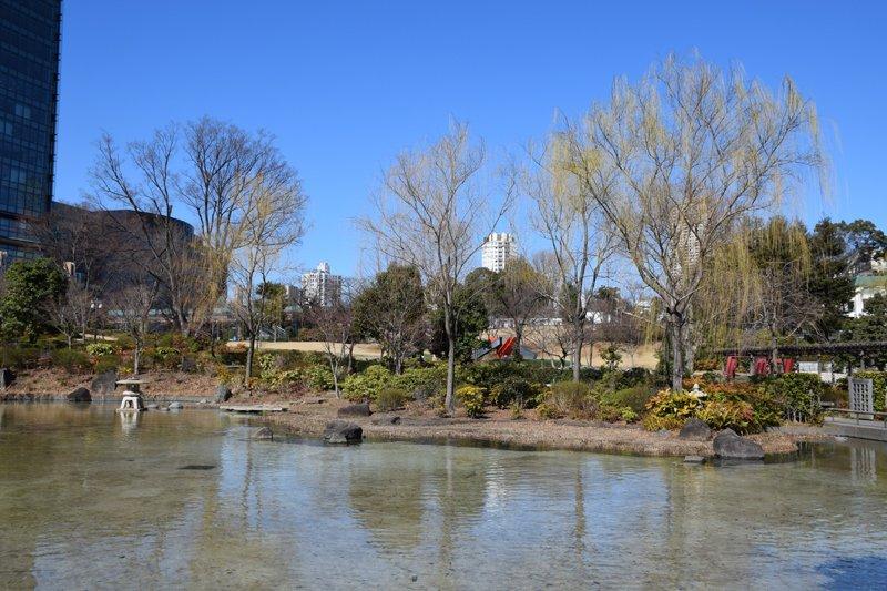 「港区立檜町公園」の庭園