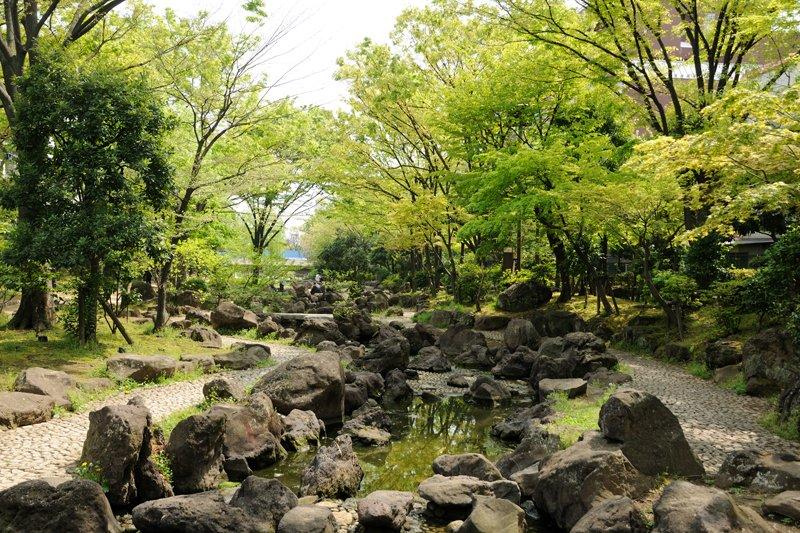 大横川親水公園(業平橋付近)