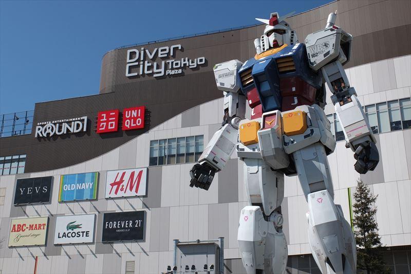 1日遊べる「ダイバーシティ東京 プラザ」