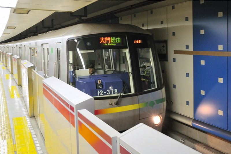 大江戸線電車