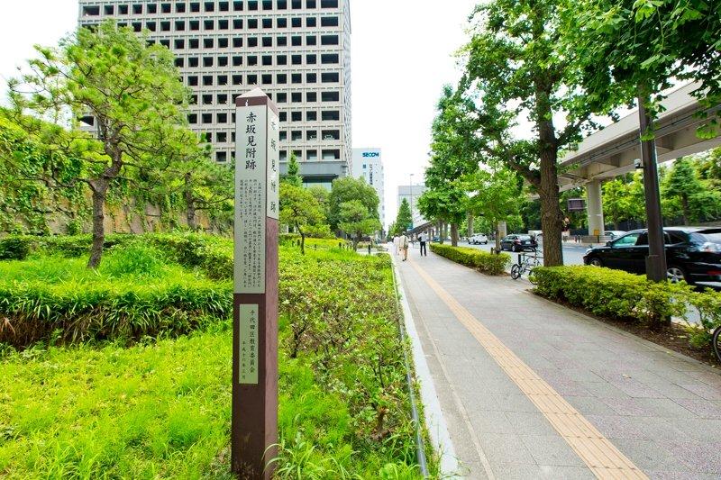 赤坂見附周辺の街並み
