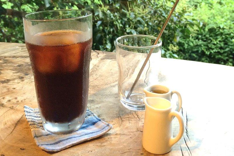 無農薬のコーヒー