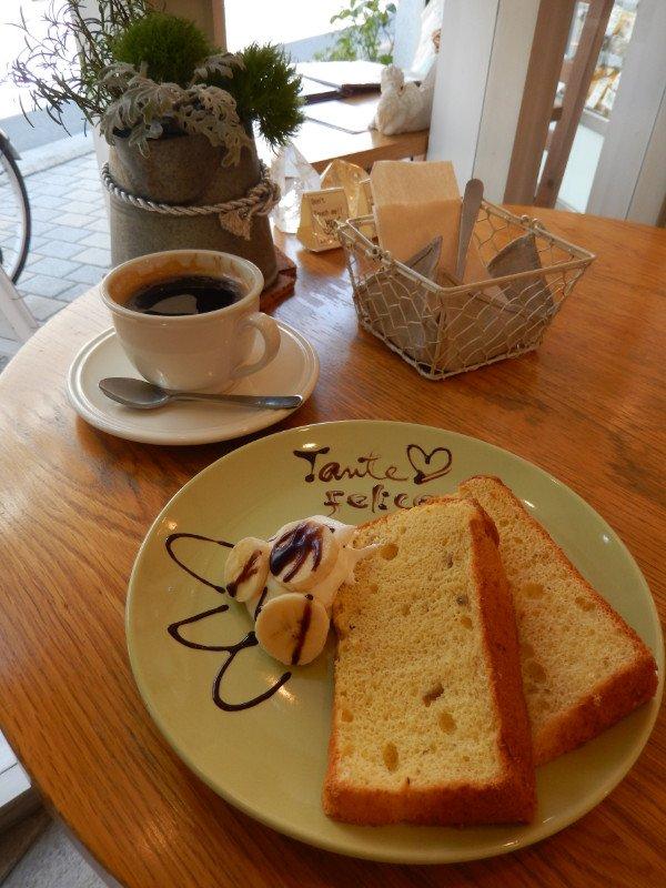富士見通りの「CAFE LUCCA」