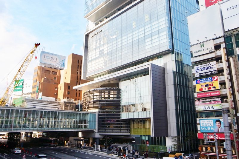 複合商業施設「渋谷ヒカリエ」