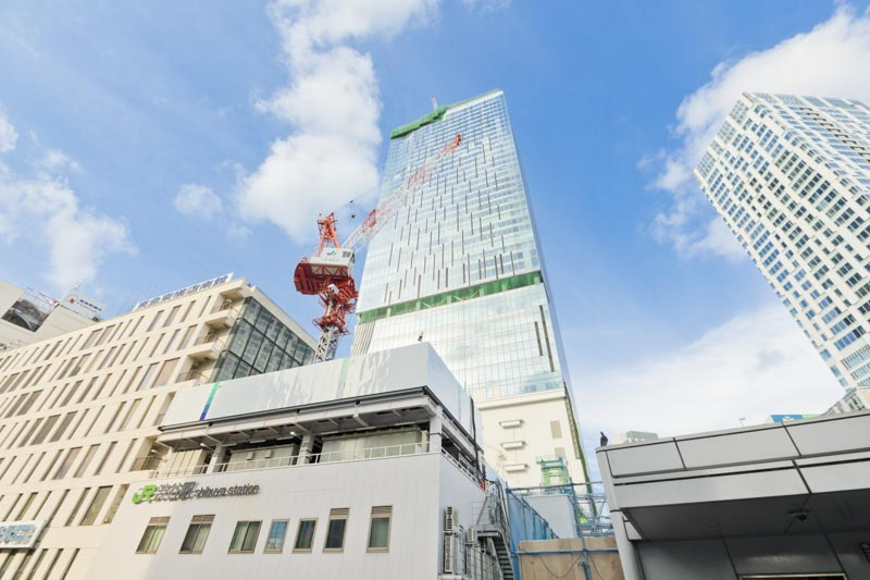 「渋谷スクランブルスクエア」