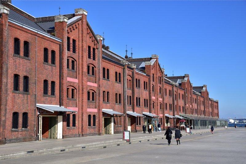 横浜赤レンガ倉庫(赤レンガパーク)